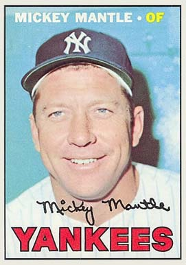 1967 Topps Mickey Mantle #150 Baseball Card