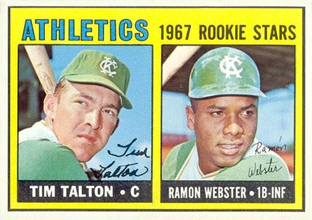 1967 Topps Tim Talton #603 Baseball Card