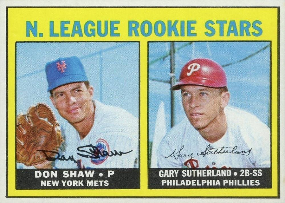 1967 Topps Don Shaw #587 Baseball Card