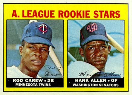 1967 Topps Rod Carew #569 Baseball Card