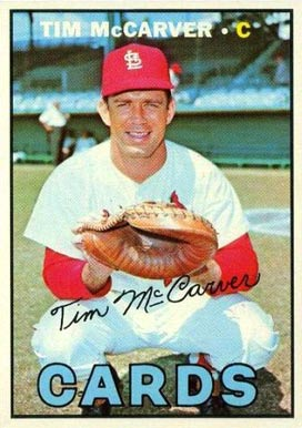 1967 Topps Tim McCarver #485 Baseball Card