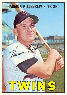 1967 Topps Harmon Killebrew #460 Baseball Card