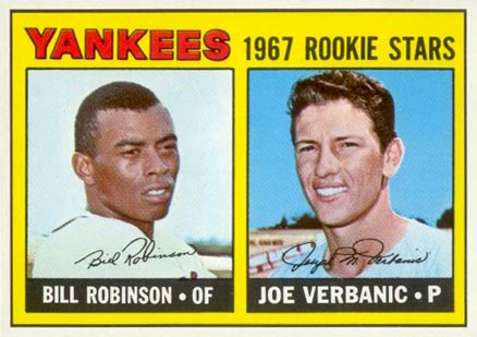 1967 Topps Bill Robinson #442 Baseball Card