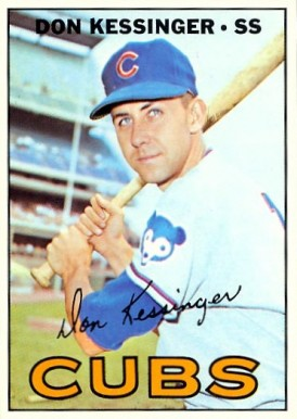 1967 Topps Don Kessinger #419 Baseball Card