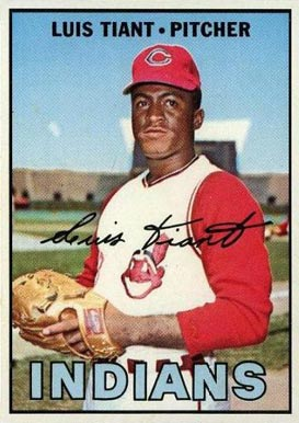 1967 Topps Luis Tiant #377 Baseball Card