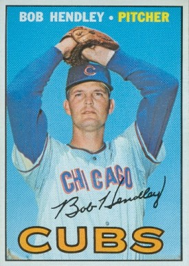 1967 Topps Bob Hendley #256 Baseball Card