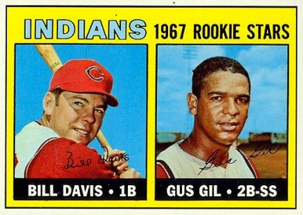 1967 Topps Bill Davis #253 Baseball Card
