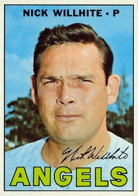 1967 Topps Nick Willhite #249 Baseball Card