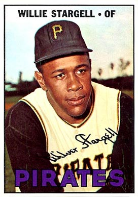 1967 Topps Willie Stargell #140 Baseball Card