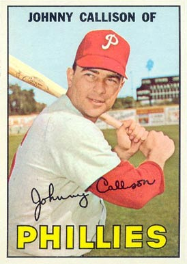 1967 Topps Johnny Callison #85 Baseball Card