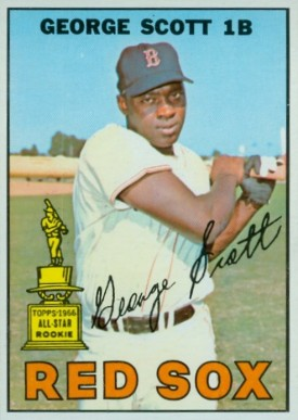 1967 Topps George Scott #75 Baseball Card