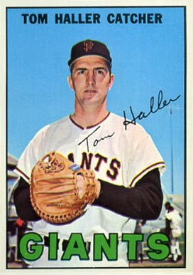 1967 Topps Tom Haller #65 Baseball Card