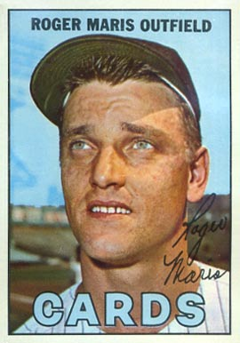 1967 Topps Roger Maris #45-cards Baseball Card