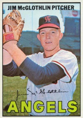1967 Topps Jim McGlothlin #19 Baseball Card