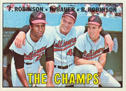 1967 Topps The Champs #1 Baseball Card