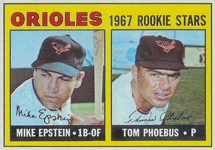 1967 Topps Mike Epstein #204 Baseball Card