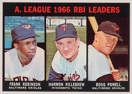 1967 Topps Harmon Killebrew #241 Baseball Card