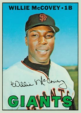 1967 Topps Willie McCovey #480 Baseball Card