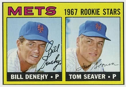 1967 Topps Tom Seaver #581 Baseball Card
