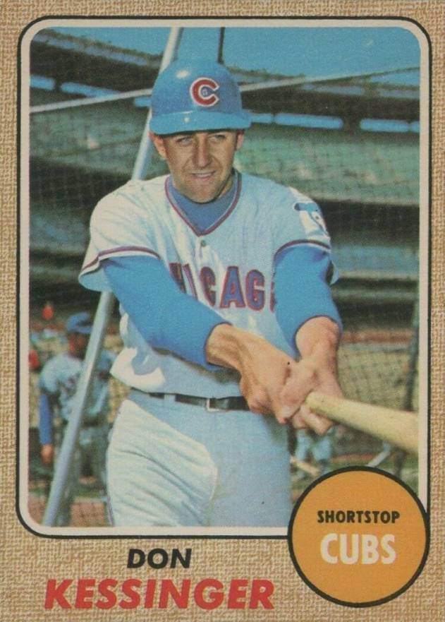 1968 O-Pee-Chee Don Kessinger #159 Baseball Card