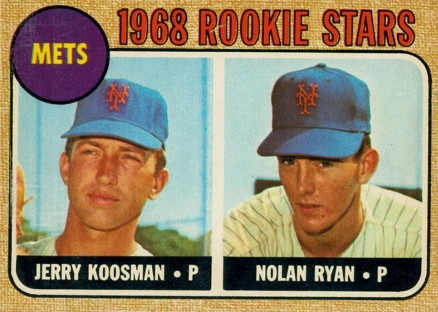 1968 O-Pee-Chee Nolan Ryan #177 Baseball Card