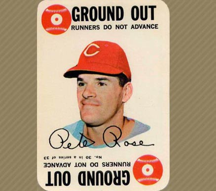 1968 Topps Game Pete Rose #30 Baseball Card