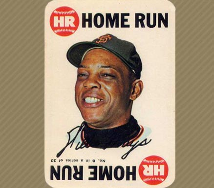 1968 Topps Game Willie Mays #8 Baseball Card