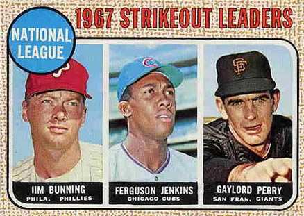 1968 Topps Jim Bunning #11 Baseball Card