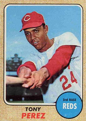 1968 Topps Tony Perez #130 Baseball Card