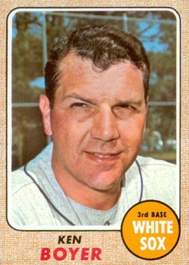 1968 Topps Ken Boyer #259 Baseball Card