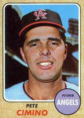 1968 Topps Pete Cimino #143 Baseball Card