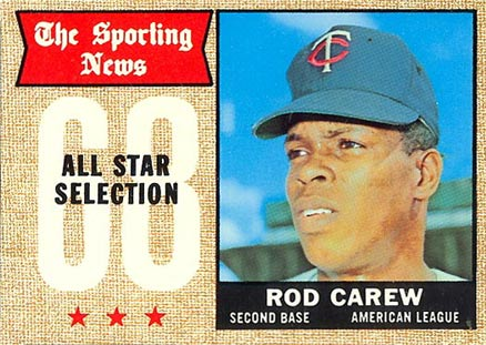1968 Topps Rod Carew #363 Baseball Card