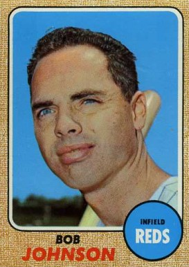 1968 Topps Bob Johnson #338 Baseball Card