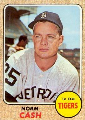 Norm Cash Baseball Cards