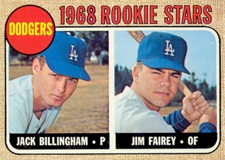 1968 Topps Jack Billingham #228 Baseball Card