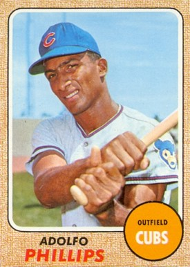 1968 Topps Adolfo Phillips #202 Baseball Card