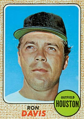 1968 Topps Ron Davis #21 Baseball Card