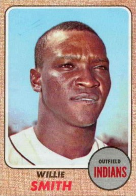 1968 Topps Willie Smith #568 Baseball Card