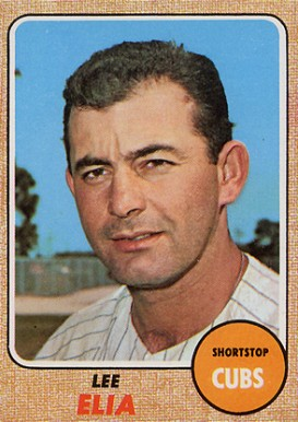 1968 Topps Lee Elia #561 Baseball Card