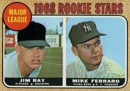 1968 Topps Mike Ferraro #539 Baseball Card