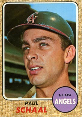 1968 Topps Paul Schaal #474 Baseball Card