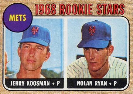 1968 Topps Nolan Ryan #177 Baseball Card