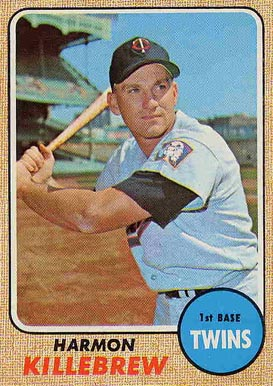 1968 Topps Harmon Killebrew #220 Baseball Card
