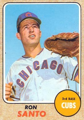 1968 Topps Ron Santo #235 Baseball Card