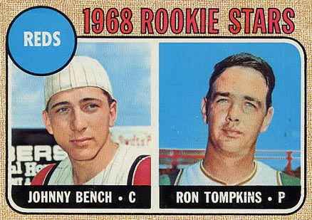 1968 Topps Johnny Bench #247 Baseball Card