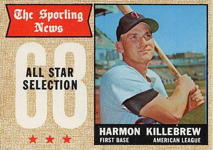 1968 Topps Harmon Killebrew #361 Baseball Card