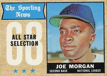 1968 Topps Joe Morgan #364 Baseball Card