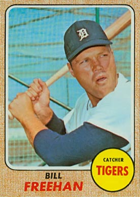 1968 Topps Bill Freehan #470 Baseball Card