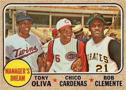 1968 Topps Chico Cardenas #480 Baseball Card