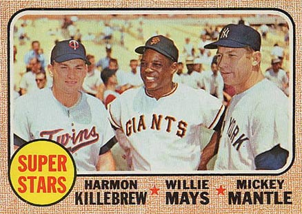 1968 Topps Super Stars #490 Baseball Card